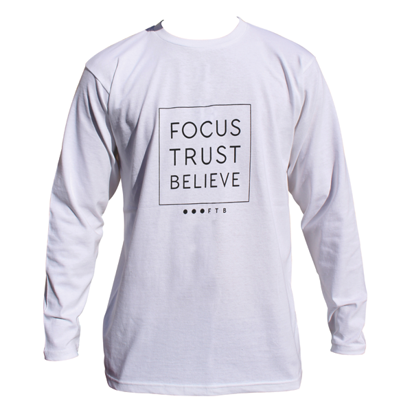 5a63a43c FTB Squared | Long Sleeve T-Shirt - FOCUS TRUST BELIEVE
