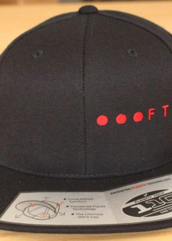 FTB Ellipsis Side | FTB 110 Delux Cap Red