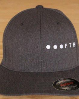 FTB Ellipsis Side | FTB OSFA Cap Grey