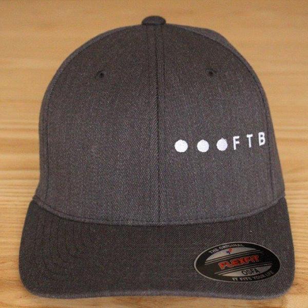 FTB Ellipsis Side   FTB OSFA Cap Grey