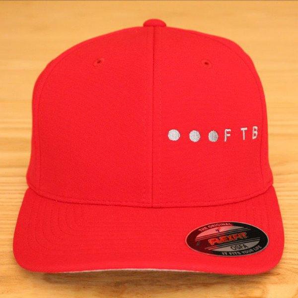 FTB Ellipsis Side   FTB OSFA Cap Red