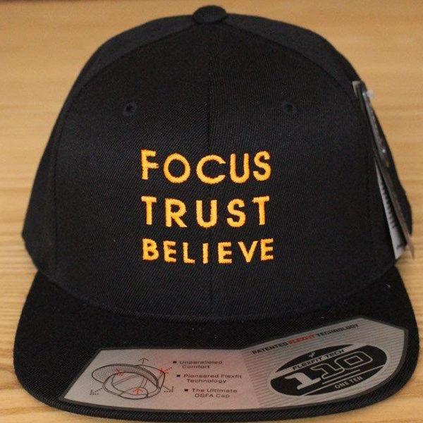 Focus Trust Believe   FTB 110 Delux Cap Orange
