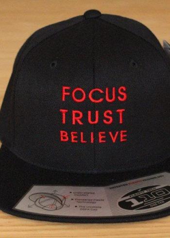 Focus Trust Believe | FTB 110 Delux Cap Red