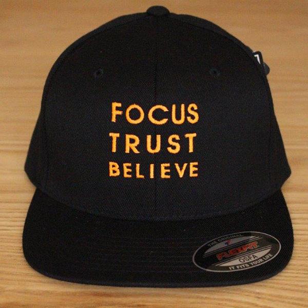 Focus Trust Believe | FTB Classic Cap Orange