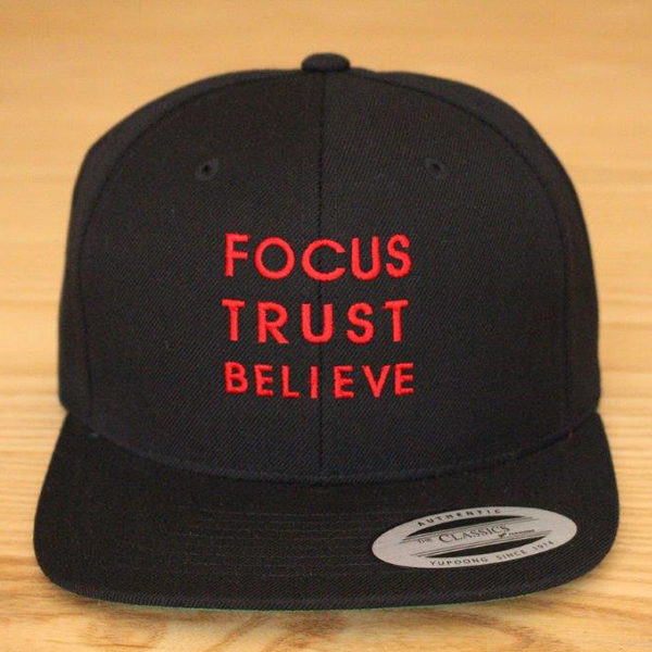 Focus Trust Believe | FTB Classic Cap Red