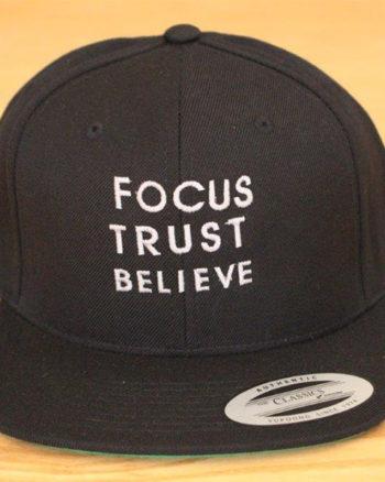 Focus Trust Believe | FTB Classic Cap White
