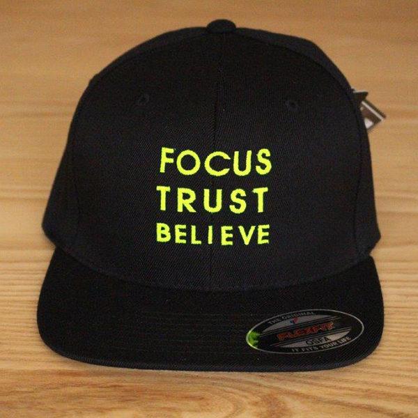 Focus Trust Believe | FTB Classic Cap Yellow
