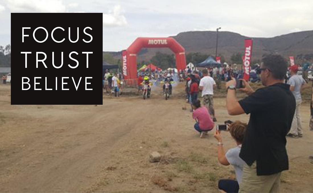 Tristan Wins Race