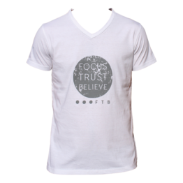 FTB Full Moon Mens V-Neck T-Shirt